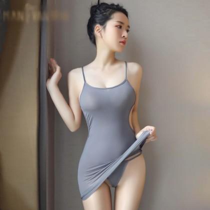 Sexy Lingerie Alluring Suspenders Hip Skirt Nightdress
