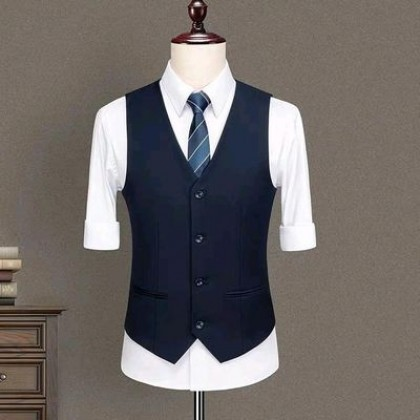 Men Evening Clothing Waistcoat Vest Formal Suit